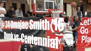 # 4 Omajae Smith '16, Foothills Christian, Dunk vs. Centennial, 12/27/14