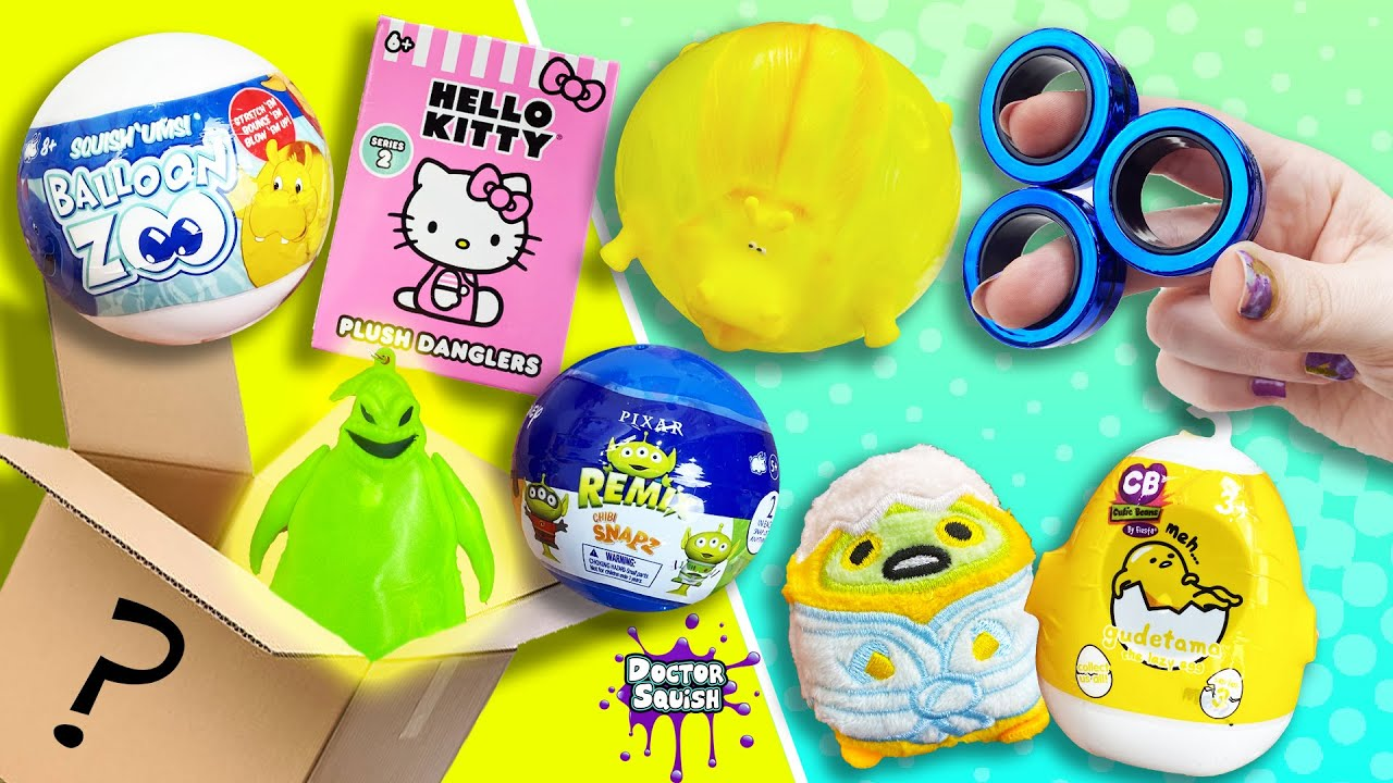 Download HUGE Mystery Box of Fidgets, Capsule Toys, Blind Boxes