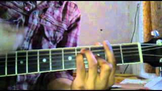 learn ONE LOVE ( BLUE) on guitar
