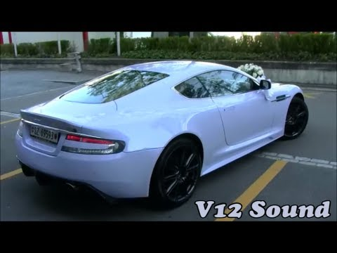 """Aston Martin DBS"" Starts Up, Loud Revs + Idle!! 6.0-Liter ""V12"" 517Hp + 570Nm"" TopSpeed 307km/h"
