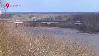 Река в Вятке поднялась