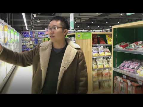 This automated supermarket in Beijing has no cashier or staff on duty!