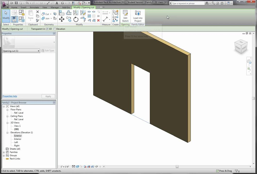 YouTube Premium & Revit Tutorial - The Revit Kid - Create a Door Part 1 - YouTube