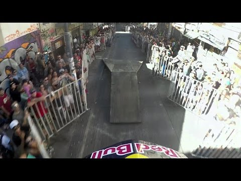 GoPro View: Tomas Slavik's Savage Urban DH Mountain Bike Run at Valparaíso