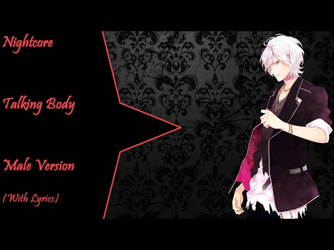 Nightcore  Talking Body {Male Version with lyrics}