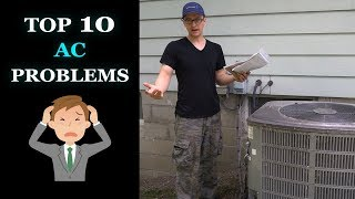 Central Air Troubleshooting - Top 10 AC Problems