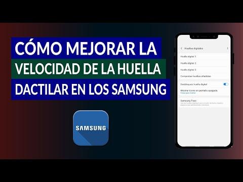 Cómo Mejorar la Velocidad de la Huella Dactilar en los Móviles Samsung