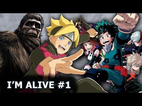 I'M ALIVE #1 - Titã Bestial, Boruto e My Hero Academia!!