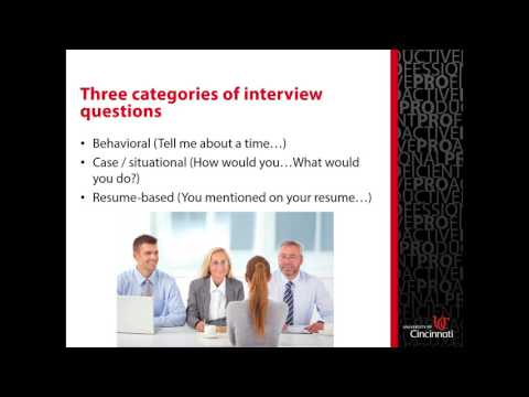 Interviewing Video