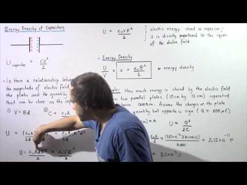 Energy Density of Capacitors