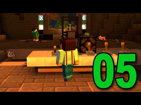 Minecraft: Story Mode - Part 5 - The End (For Now) (Lets Play / Walkthrough)
