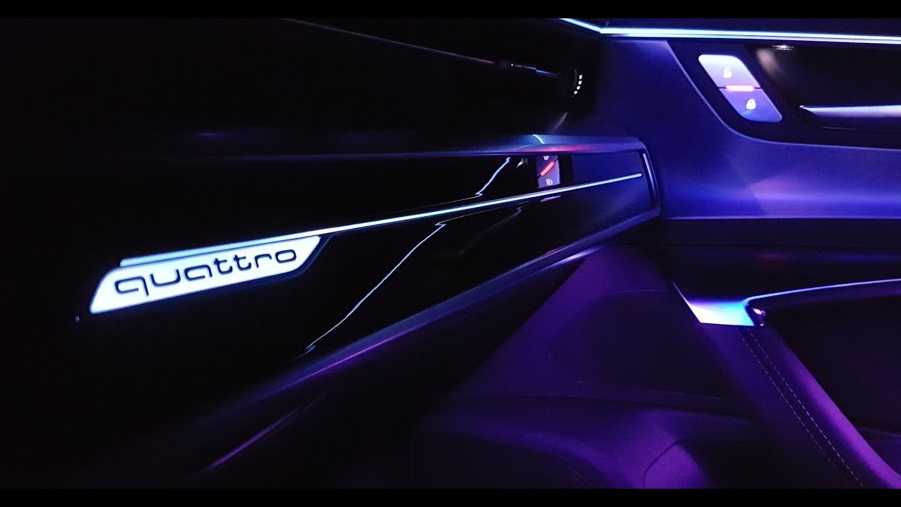 Audi A7 Quattro Sportback 2018 Ambientebeleuchtung Lichtspiel Hd Matrix Led Ambient Lighting