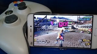 Motorstorm Artic Edge on android (Playable) Gameplay and Setting