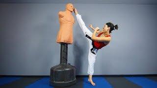 How to Kick Higher (Taekwondo, Karate, Martial Arts)