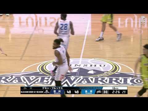 【ハイライト】信州ブレイブウォリアーズvs島根スサノオマジック|B1第32節GAME2|04.11.2021 プロバスケ (Bリーグ)