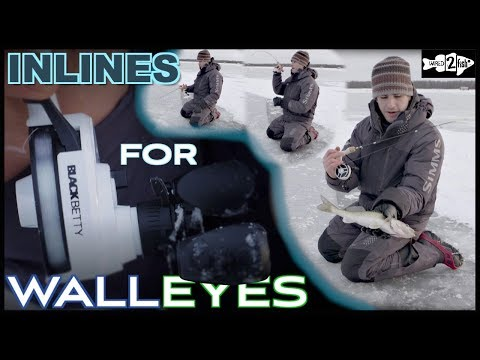 4 Benefits Of Inline Reels When Ice Fishing Walleye