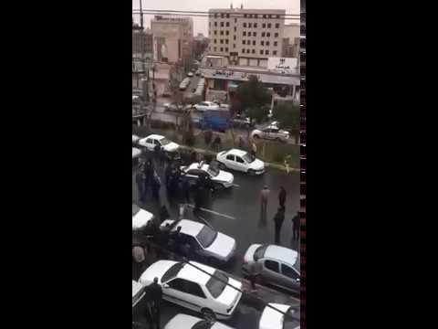 1 SSF running over woman in Robat Karim  Jan 20, '18