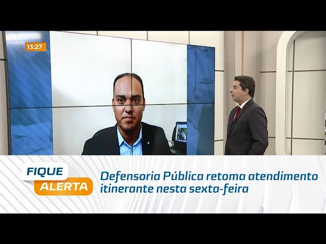 Expresso da Cidadania: Defensoria Pública retoma atendimento itinerante nesta sexta-feira