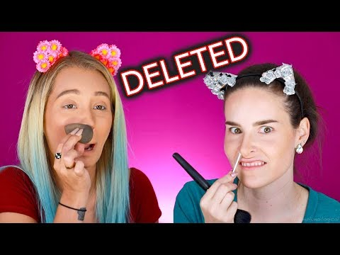 WHAT GOT DELETED | Beauty Tour Contour Lesson w/Nicol Concilio