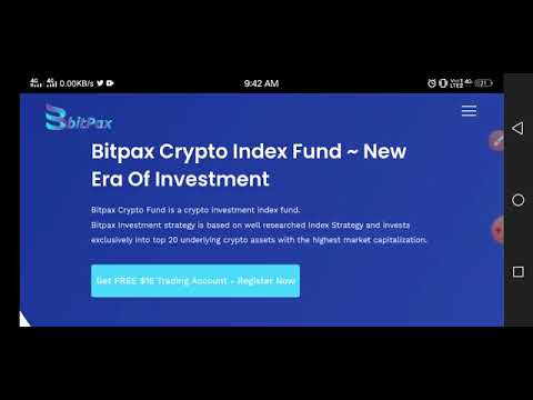 Bitpax is a new crypto exchange giving FREE $15 crypto trading account plus $50 worth of Airdrop
