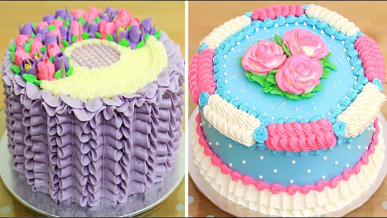 Amazing Cake Decorating Ideas | Easy Cake Tutorials with Piping Tips