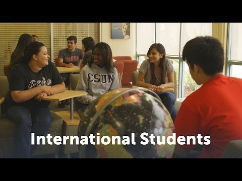 CSUN International Students Welcome