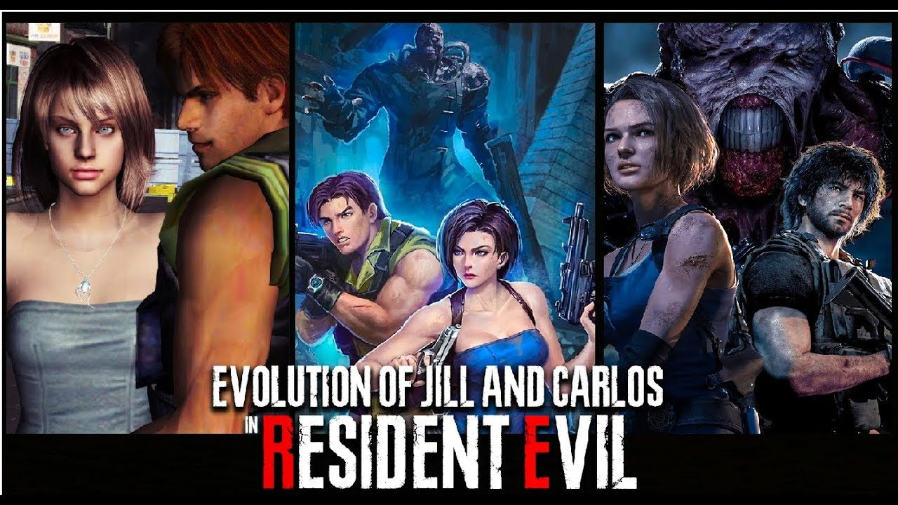 resident evil 3 carlos x jill