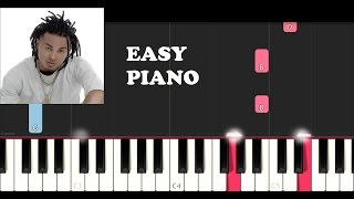 Ozuna - Tu Foto (EASY Piano Tutorial)