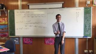 Introduction to Binomial Theorem (3 of 3: Choosing an order for the expansion)