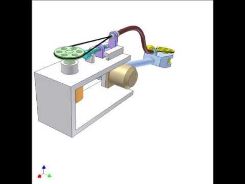 Bowden mechanism for robot control 1