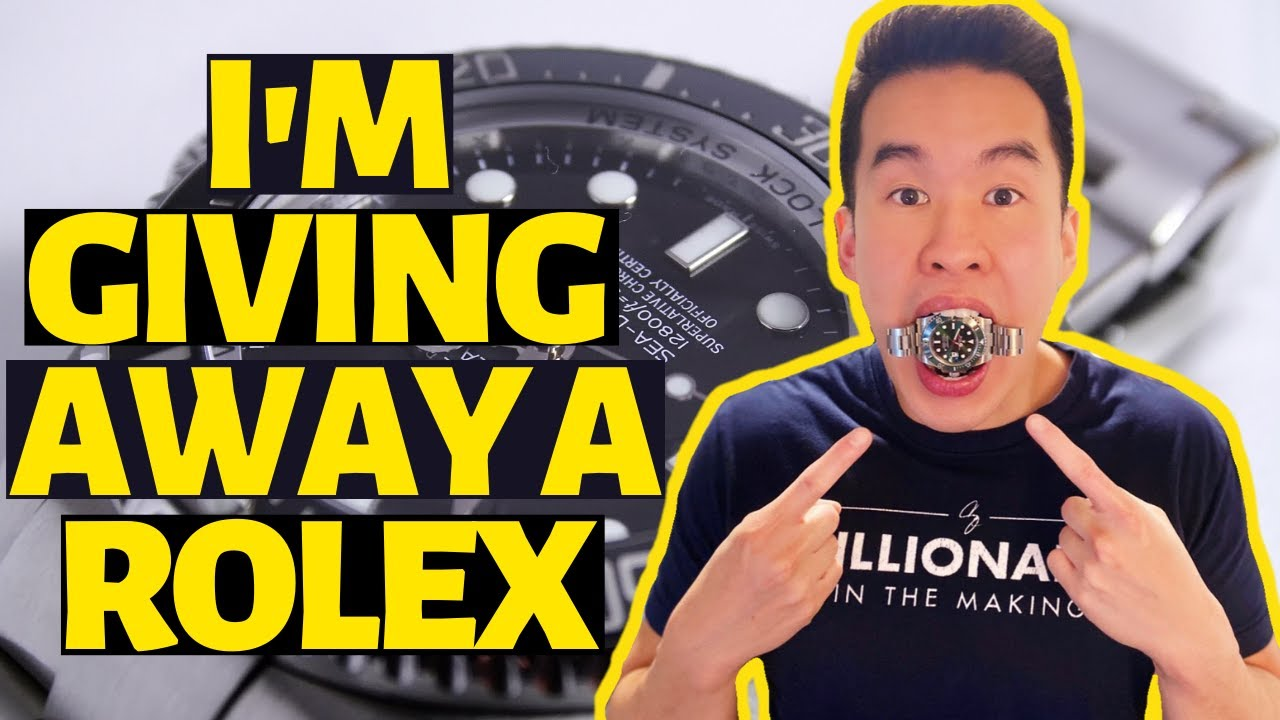 I'M GIVING AWAY A ROLEX!!! (10,000 SUBSCRIBERS CELEBRATION)