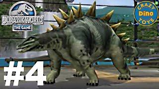 New  Jurassic World The Game -  Episode 4 Vs  / Dinosaurs  Walkthrough Gameplay WD Toys
