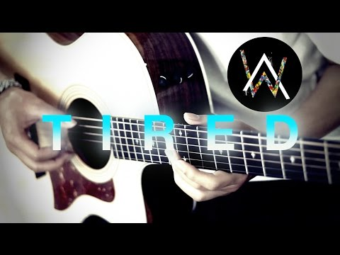 Tired - Alan Walker ft. Gavin James Fingerstyle Guitar Cover Free Tabs