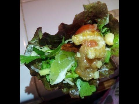 C/w Nana: Mieng Meuang Luang (ໝ້ຽງເມືອງຫລວງ == Meuang Luang Wrap)