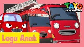 Tayo Lagu Pembukaan Tema belajar warna merah l lagu untuk anak-anak l Hey Tayo! l Tayo bus kecil