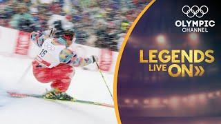 The Rebel who Pioneered Freestyle Skiing at the Olympics - Edgar Grospiron | Legends Live On