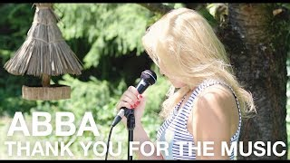 ABBA - Thank You For The Music (Cover by Masha Kandus)