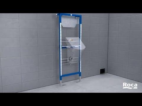 Duplo Urinal Installation Roca