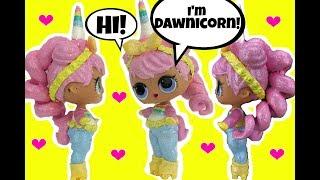 LOL Surprise Doll Custom UNICORN 🦄 Series 3 Confetti Pop 😍GUESS WHO IT IS?!?!