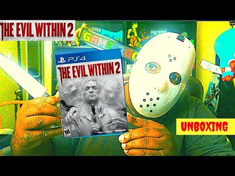 THE EVIL WITHIN 2 : UNBOXING Halloween Edition