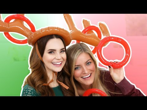 Download Youtube: TRYING THE REINDEER TOSS GAME w/ iJustine!