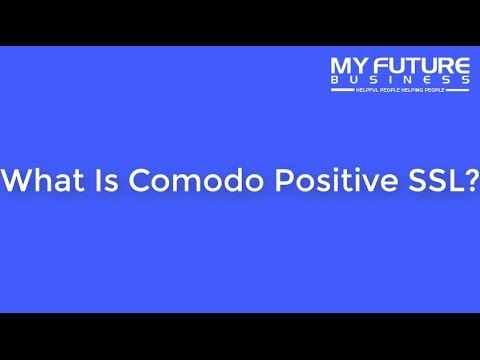 What Is Comodo Positive SSL? - YouTube