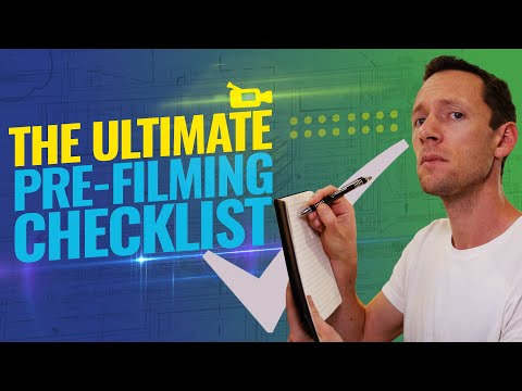 8 Step Checklist for Filming (BEFORE You hit Record!)
