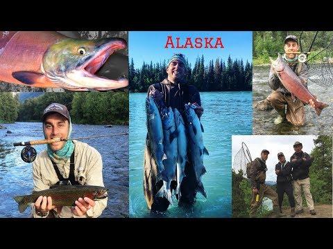 Alaska Trip 2018: Salmon & Trout Fishing On The Kenai & Russian Rivers:
