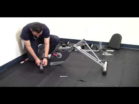 Step 1 Exerpeutic 400XL Recumbent Bike Model # 1110