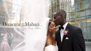 GROOM CRIES when he reads the bride's letter! : Charlotte, NC Wedding Film