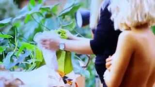 Девушка Блонда для MAXIM  (Backstage video), апрель 2012
