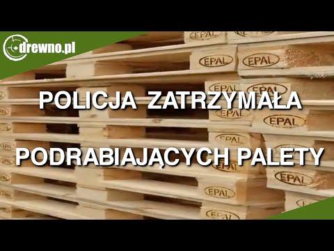 Policja Zatrzymała Podrabiających Palety
