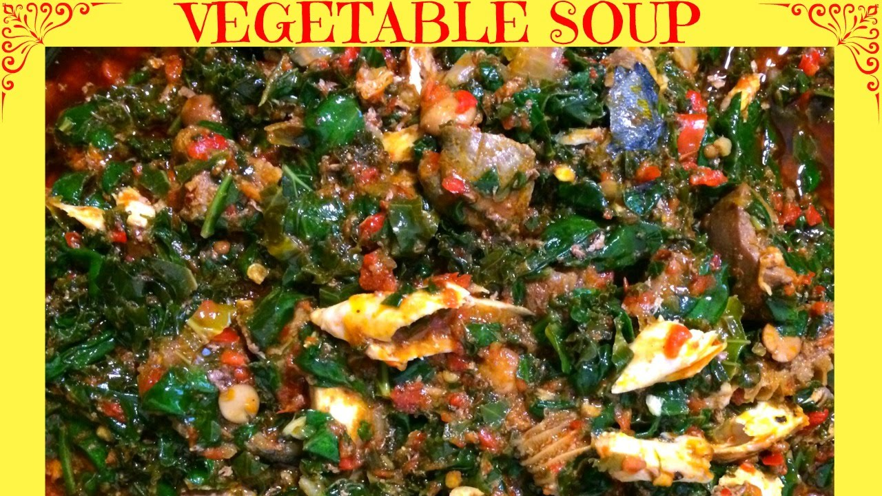How to make nigerian vegetable soup efo riro youtube forumfinder Images