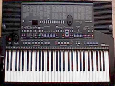 Yamaha PSR-510 (QRS Pianomation) - The Trolly Song